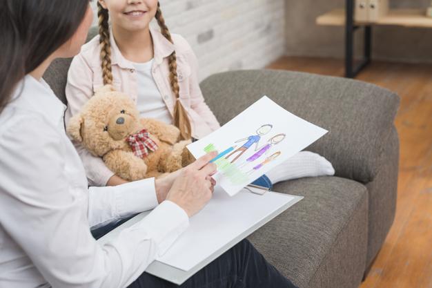 psychothérapie enfant, jeu dessin